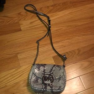 Snakeskin Michael Kors bag